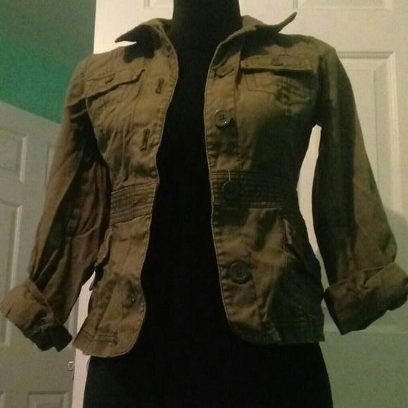 Jackets & Blazers - Quarter sleeve jacket